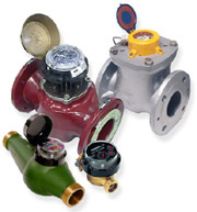 "Hot Water Meters 3/4"" - 6"""