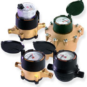 "Positive Displacement Meters 1/2"" to 2"""