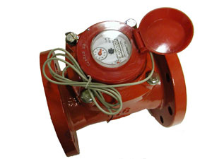 4 Hot Water  Pulsing Turbine Meter